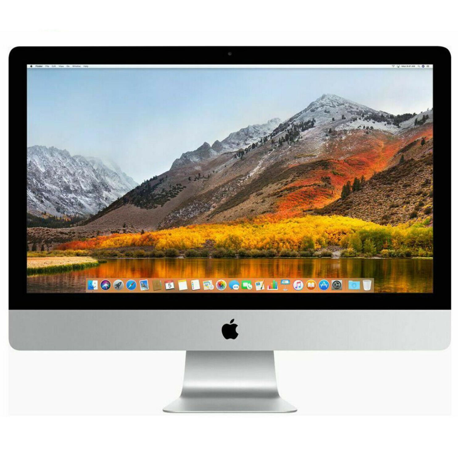 Apple IMac 21 52 4x I5 2,5 GHz 8 Hard Gb RAM DDR3 500 Gb Hard Drive OS High Sierra 10.13.6 WebCam Dvd