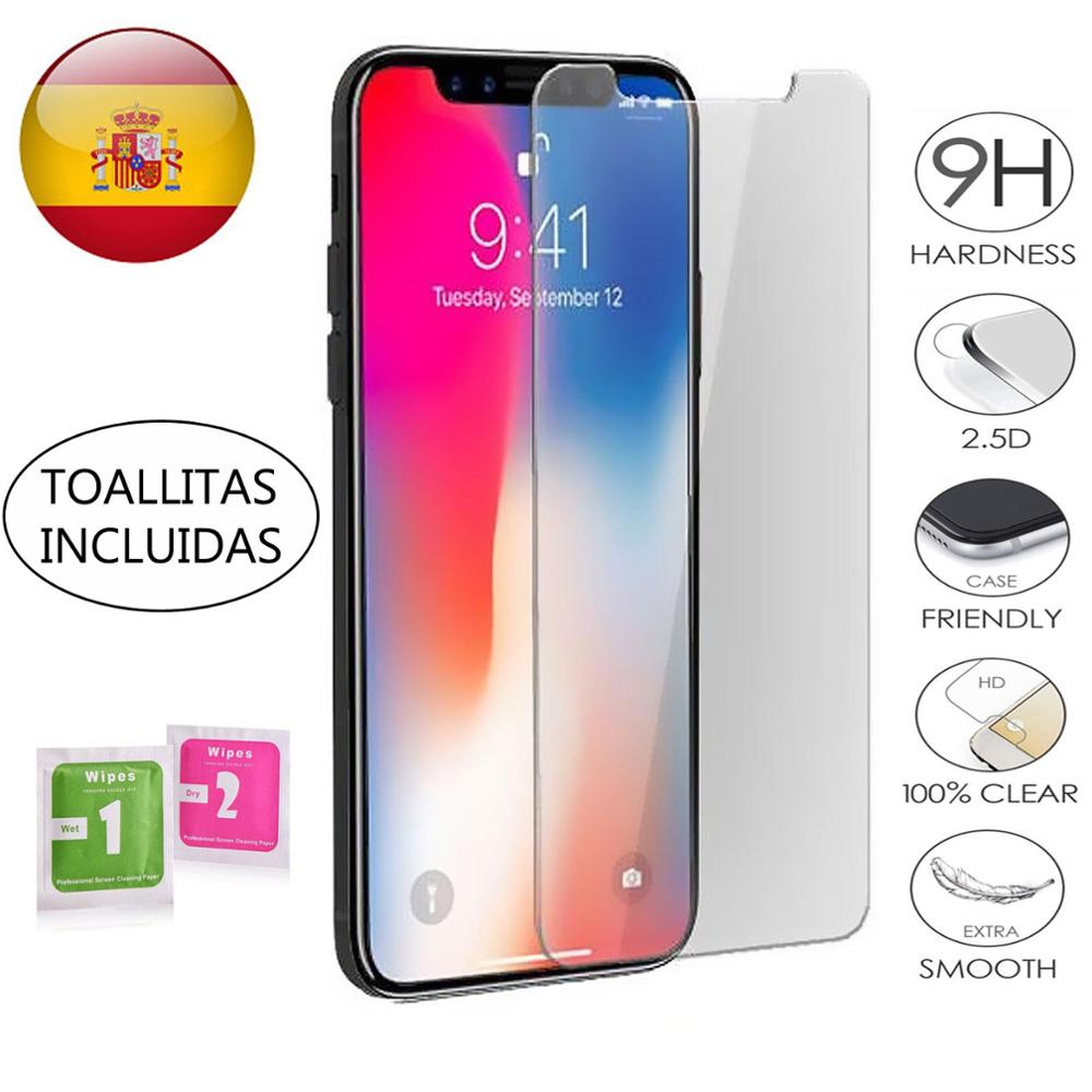 Tempered Glass LCD Cover Screen Protector Vidrio 9H For Apple IPhone X XS