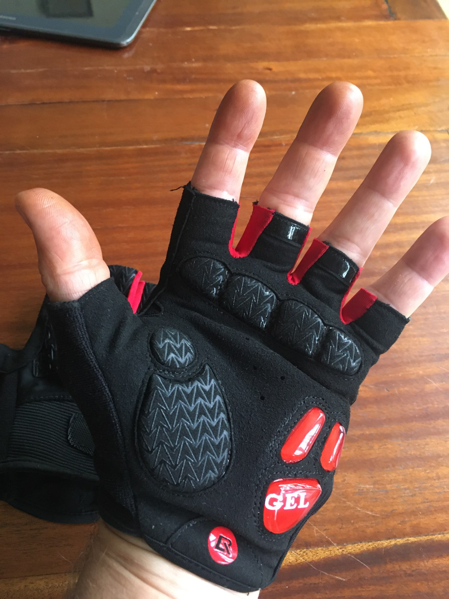 Half Finger Cycling Gloves photo review