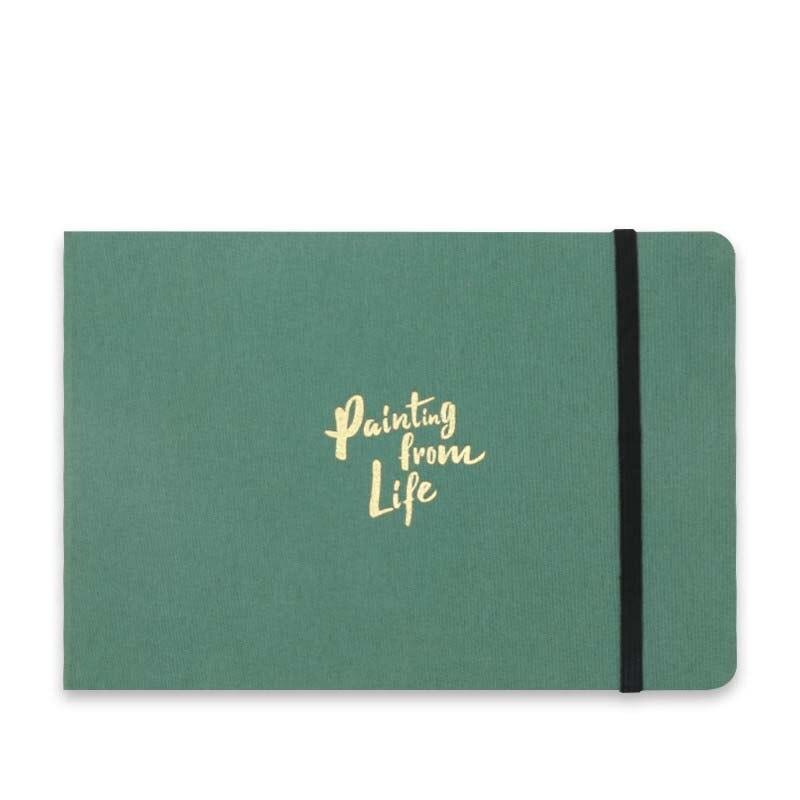 32K Watercolor Pad Portable Travel Series Watercolor Paper 300 Gsm 20 Sheets Medium Rough Painting & Drawing Sketchbook
