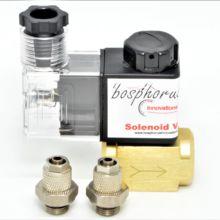 Соленоидный клапан с фитингами, анти сифон, предотвращение обратного потока воды, метаноловый спиртовой инъекции