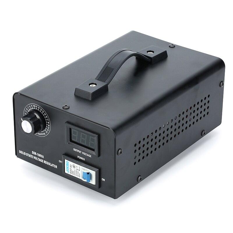 10000W Thyristor Electronic  Voltage Regulator 0-220V . REAL Rated Power 10000W.  Single Phase 220V 50Hz