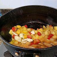 土豆胡萝卜虾仁煲(超级下饭)的做法图解6
