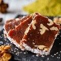 Восхитительный эксклюзивный здоровый турецкий жареный грецкий орех морковный восторг (зерье) веганские конфеты десерт вкусные Изысканные ...