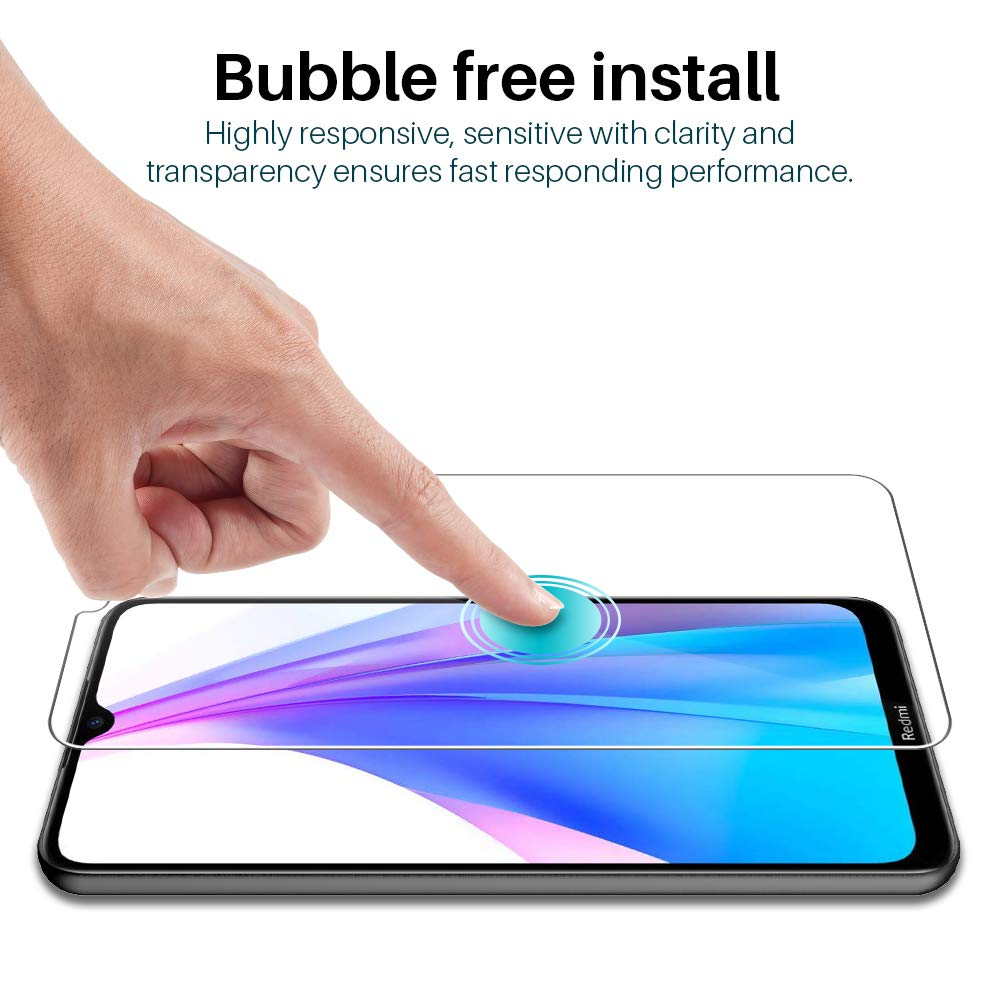 Full Tempered Glass Screen Protector for Xiaomi Redmi Note 8T Protection glass Protection for Smartphone 4