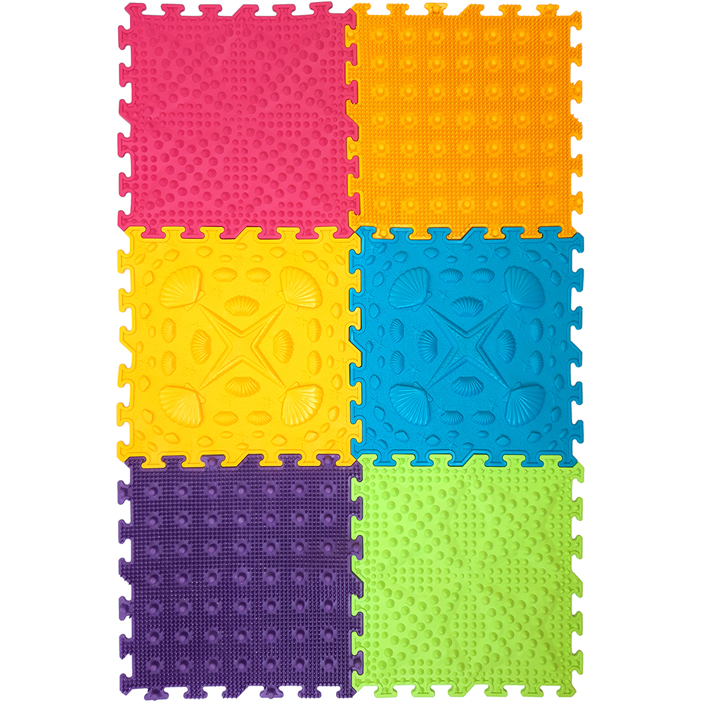 Massage Modular Mat Puzzle Master Foot Set 6.1