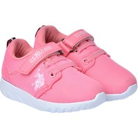 U.S. POLO ASSN HONEY CASUAL PINK GIRL CHILD SPORT SHOES DAILY CASUAL CASUAL KIDS CANVAS SHOES
