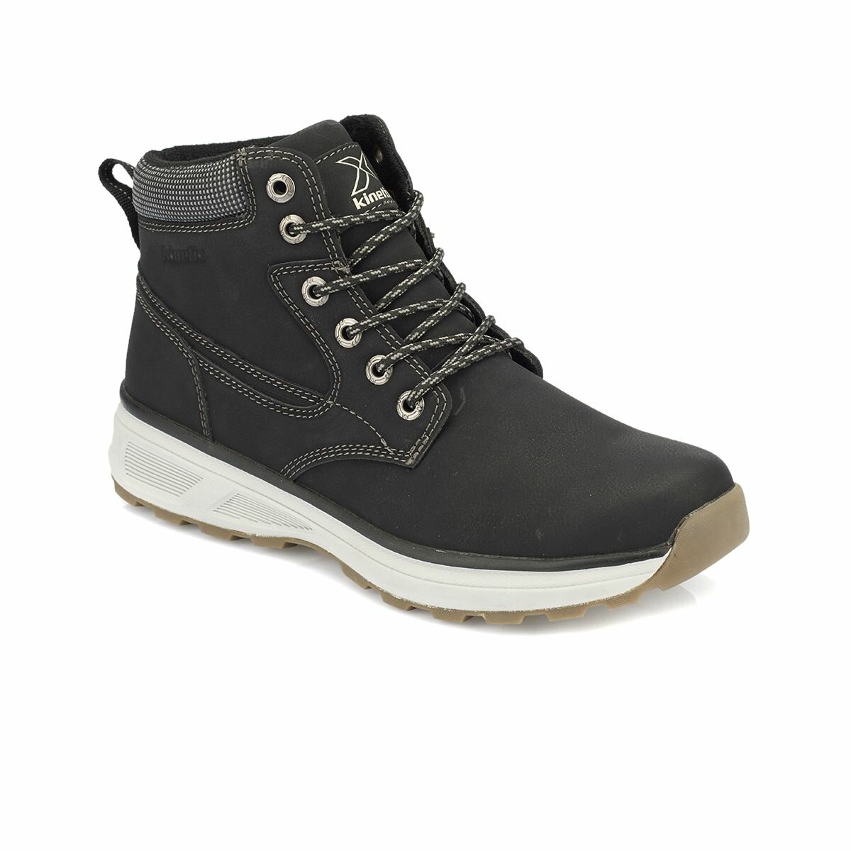 FLO CAMERON Black Men Boots KINETIX