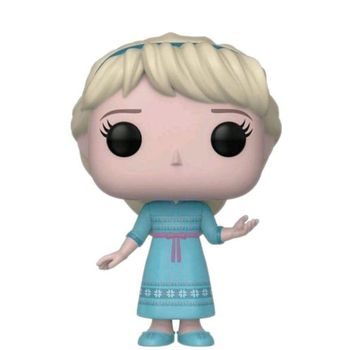 Elsa Frozen 2 Young, FUNKO POP, original, Disney figures, collectibles, girl toys, dolls, action figure 2