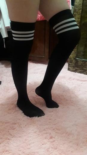 New Socks Fashion Stockings Casual Cotton Thigh High Over Knee Acrylic High Socks Girls Womens Female Long Knee Sock 2018|Stockings|   - AliExpress