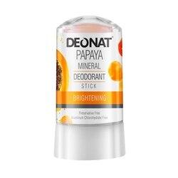 DeoNat Дезодорант-кристалл с экстрактом папайи, 60 г