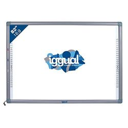 Interactive Whiteboard iggual IGG314388 82 16:9 Infrared