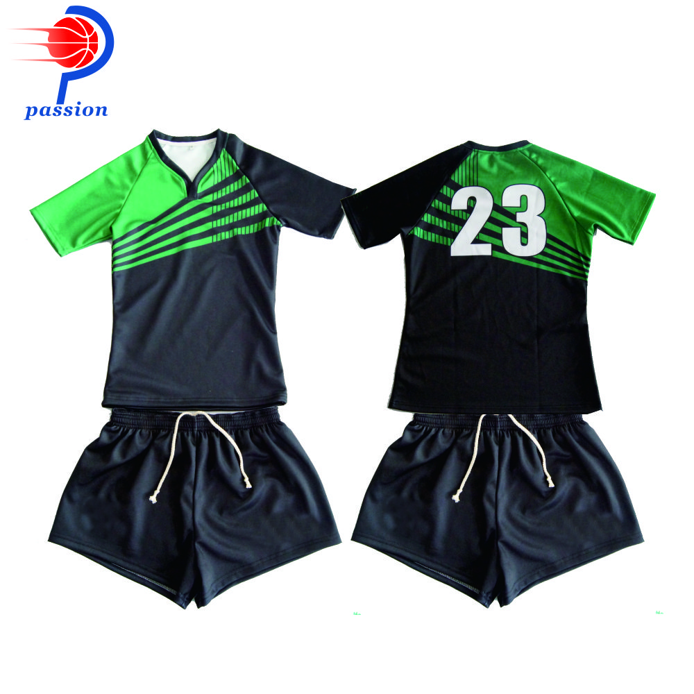 New Arrival Custom Sublimation Rugby Shirt For Wholesale