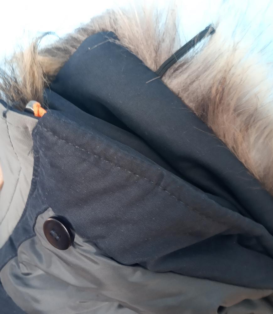 Parcas inverno caBolsa algodão