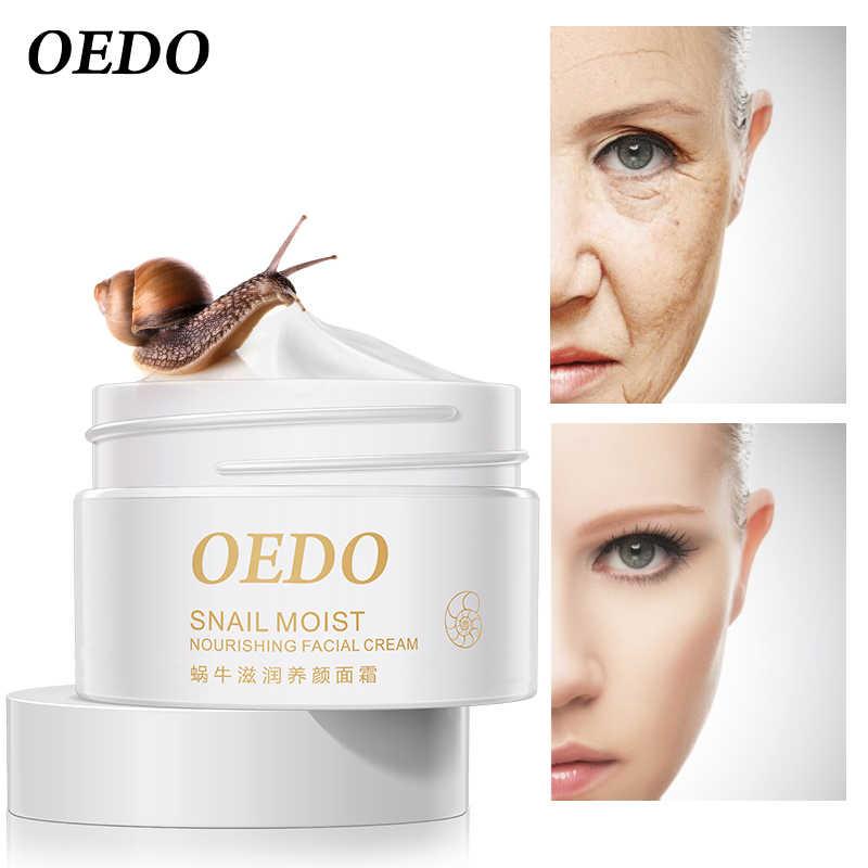 Salyangoz yüz kremi nemlendirici kırışıklık karşıtı Anti Aging krem beyazlatıcı krem ithal cilt bakımı kırışıklık karşıtı sıkılaştırıcı bakımı 40g