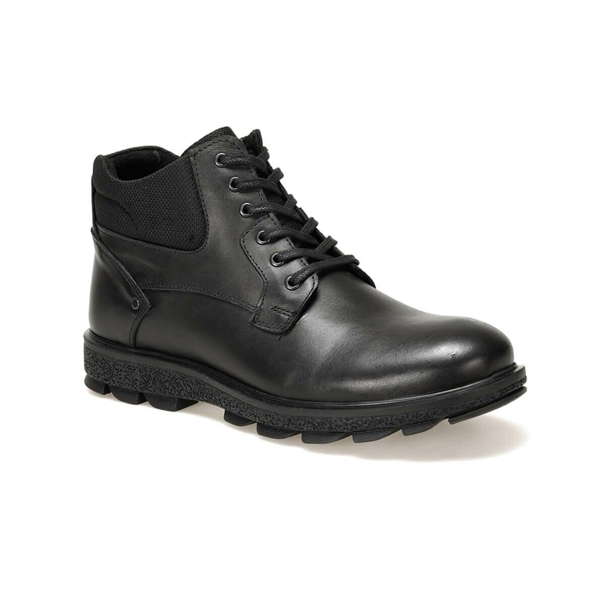 FLO 2085 Black Men Boots Oxide