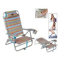 Складной стул 118499 алюминий разноцветный
