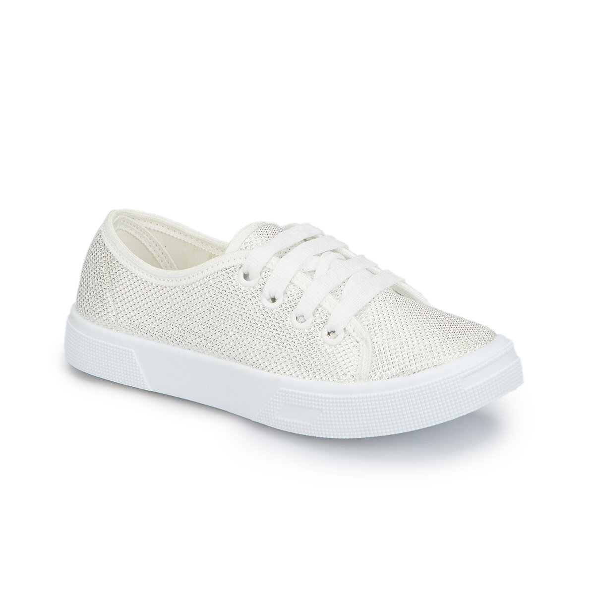 FLO 81. 509151.F White Female Child Sneaker Shoes Polaris