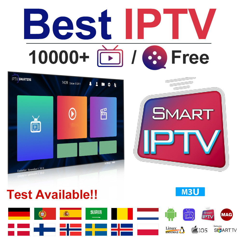 IPTV Germany Dutch Belgium Arabic IPTV Subscription 1 Year Spain Portugal IPTV M3u Android Sweden Norway Albania Poland IP TV