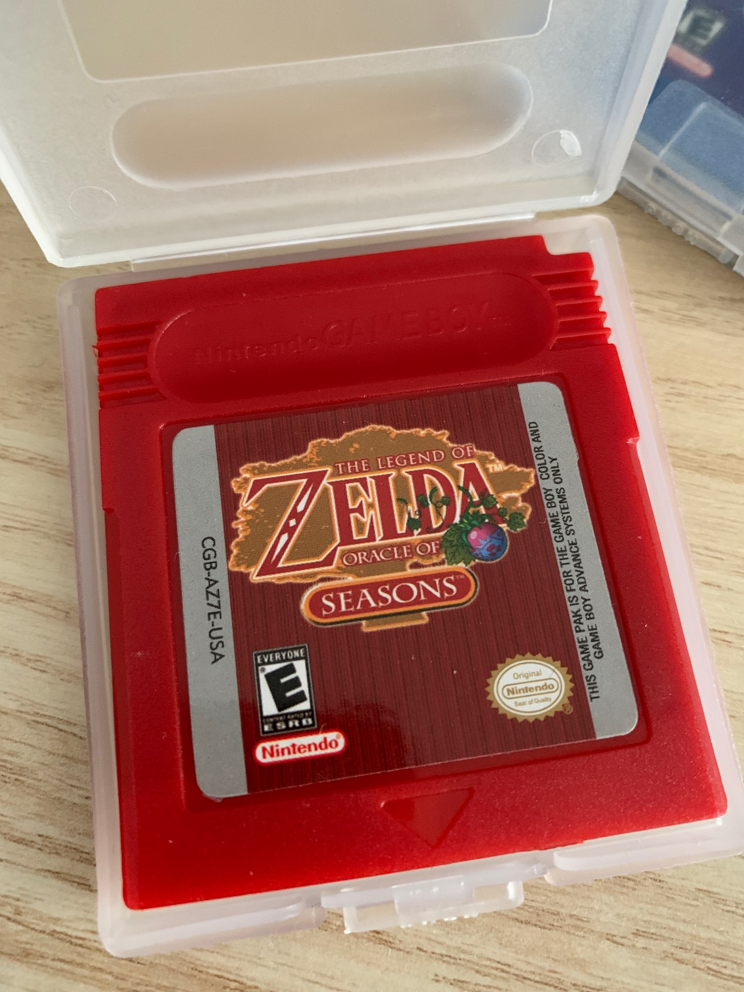 For Nintendo GBC Video Game Cartridge Console Card The Legend of Zeld Oracle Of Seasons English Language Version photo review