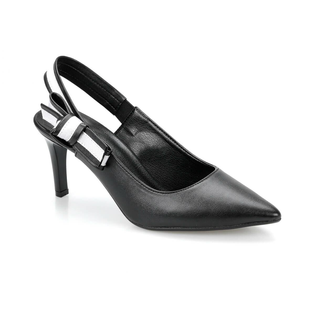 FLO DS19074 Black Women Gova Shoes Miss F