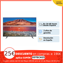 Samsung Serie 7 TU7172 y TU7022, Smart TV 43, 50, 55,65