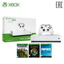 Игровая консоль Xbox One S All-Digital Edition 1TB SOT, Minecraft, Fortnite