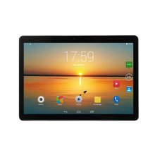 KT107 Round Hole Tablet 10.1 Inch  Large Screen Android 8.10 Version Fashion Portable Tablet 8G+64G Black Tablet Black US Plug
