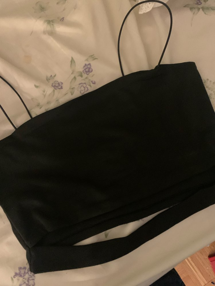 Crop top with bandage bottom Egirl Pastel gothic photo review