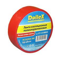 Лента изоляционная ПВХ(PVC) красная 19 мм х 9,10 м