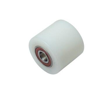 Roller polyamide (nylon) subfork for rochli ø80x70mm.