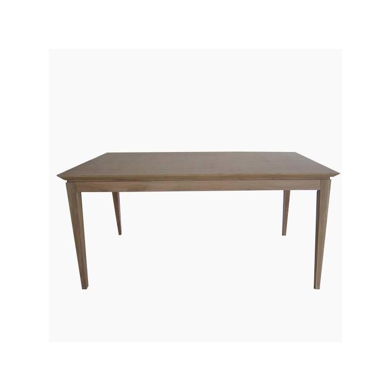 Dining Table Oak Wood (159x81x78 Cm)