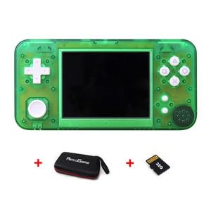 Gkd 350h-gamekiddy gkd350h, console de videogame retrô portátil, mini jogador ips de 3.5 polegadas