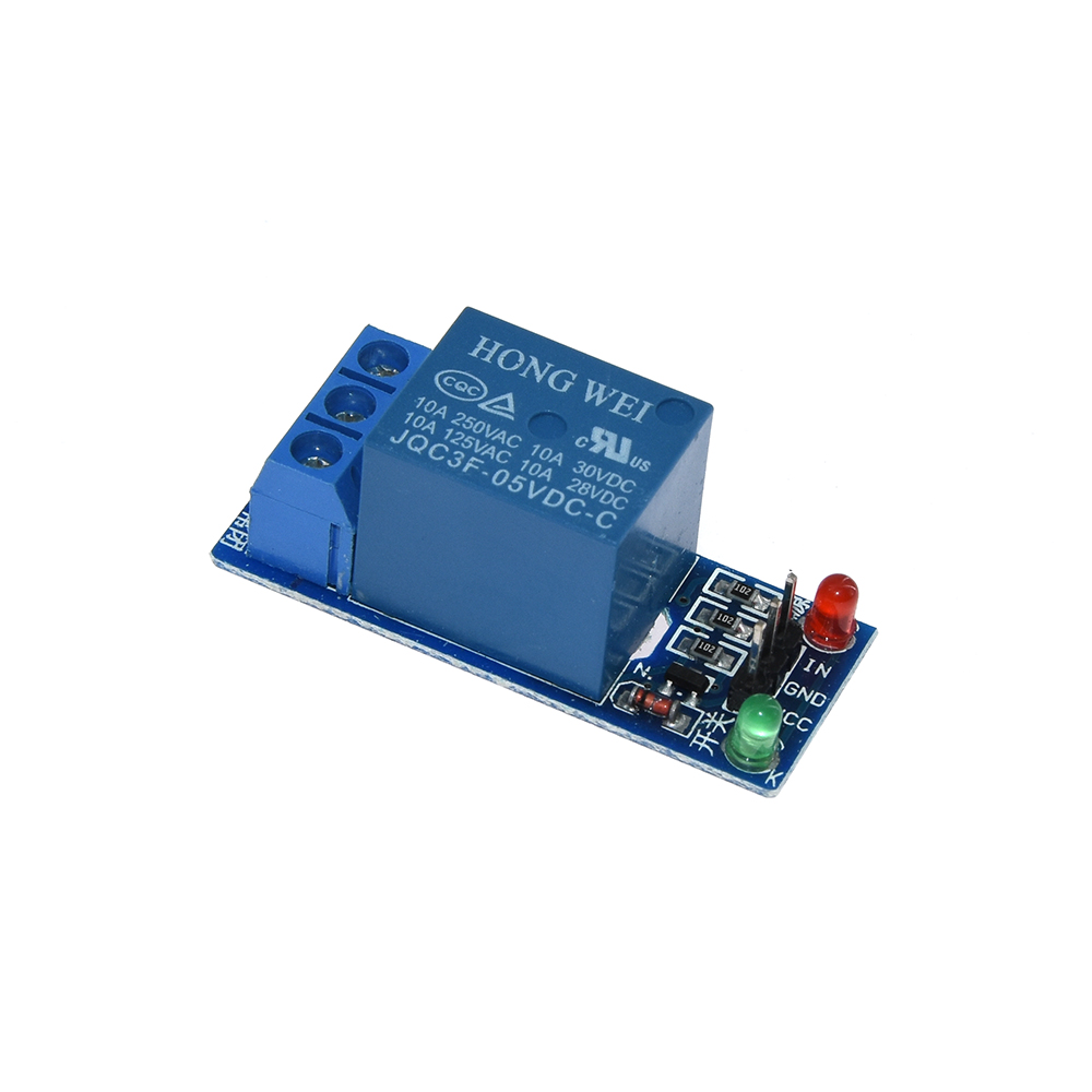 <font><b>5V</b></font> low level trigger One 1 Channel Relay Module interface Board Shield For PIC AVR DSP ARM MCU for Arduino image