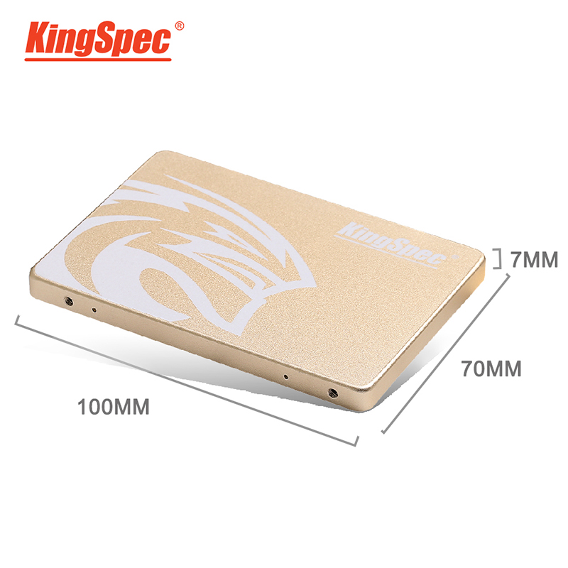 KingSpec HDD <font><b>120</b></font> <font><b>GB</b></font> <font><b>SSD</b></font> <font><b>SATA3</b></font> <font><b>SSD</b></font> 120GB <font><b>SSD</b></font> 2.5 Inch Internal Solid State Drive Hard Disk For Laptop Desktop <font><b>SSD</b></font> Disk hard drive image