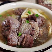 #福气年夜菜#简单快手零厨艺——冬笋猪脚汤的做法图解9