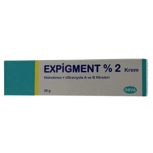 Expigment 30g 1 self Hydroquinone Cream 2% For Skin Bleaching Skin Lightening Whitening Skin Melasma Anti-blemish-made in Turkey 5