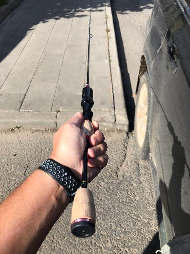 Varas de pescar Vermelha Vermelha Glória