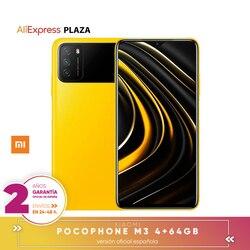 Смартфон Xiaomi Poco M3, 6,53 дюйма, FHD +, 1080P FHD +, 48 МП, тройная камера, 6000 мАч
