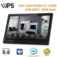 Actualizado tablet pc Android 8,0 de 11,6 pulgadas al por menor con POE (1920*1080, RK3288, 2GB DDR3, 1GB de memoria, wifi,RJ45, HDMIout,BT, VESA,cam)