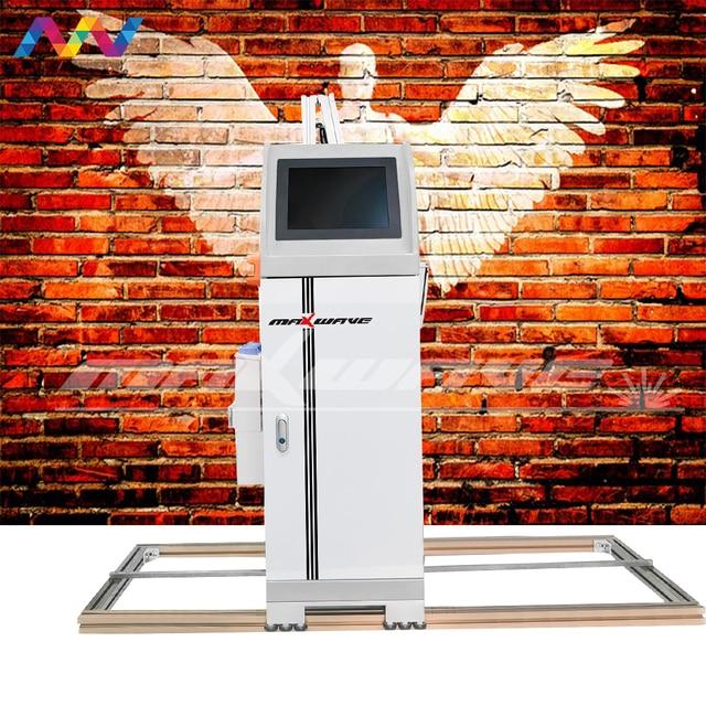 طابعة رسوم حائط حبر عمودي للأشعة فوق البنفسجية ثلاثية الأبعاد طابعة نافثة للحبر جداريات 4