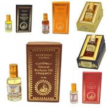 Pack 6 Ayurvedic Perfumes - 100% Natural - 6 x 10ml