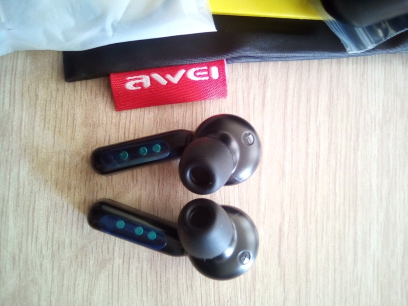 Original AWEI T10C TWS Wireless  Bluetooth  Earphone Headphones Tap Control Headset Handsfree True Wireless Earbuds For xiaomi-in Phone Earphones & Headphones from Consumer Electronics on AliExpress