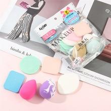 6pcs/Set Women Beauty Soft Makeup Sponge Puff Face Nose Faci