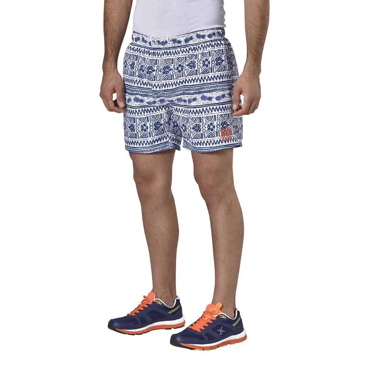 FLO A5131603 White Male Shorts KINETIX