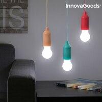 InnovaGoods Pull Schnur Led lampe auf