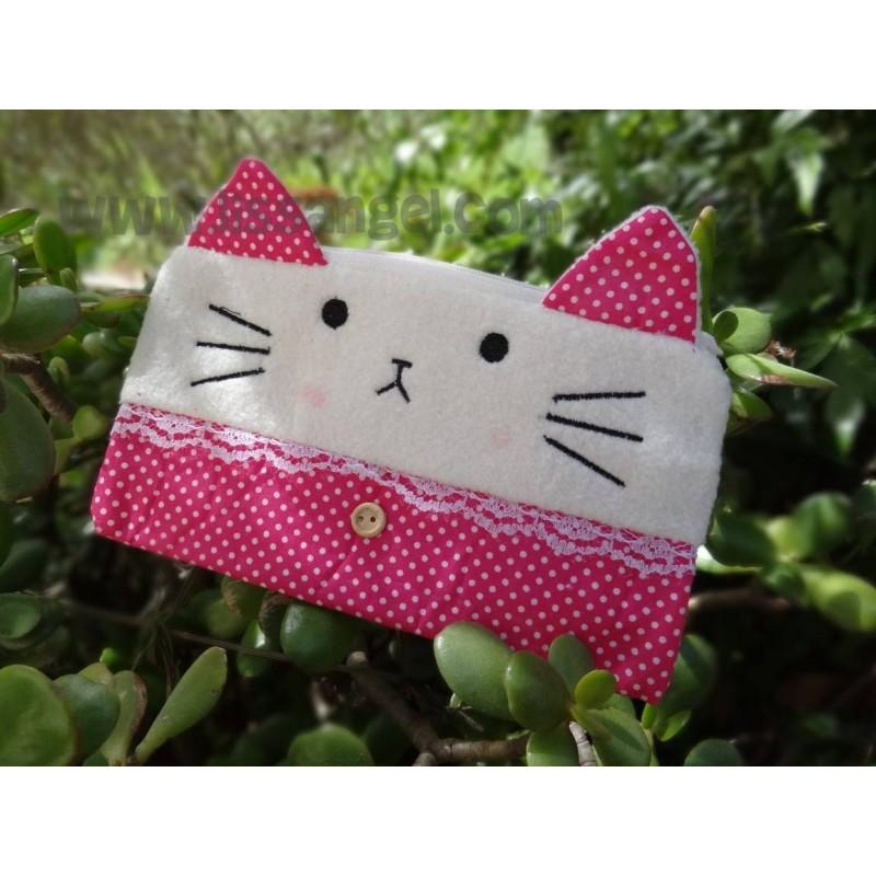 Kawaii Kitty Pencil Case