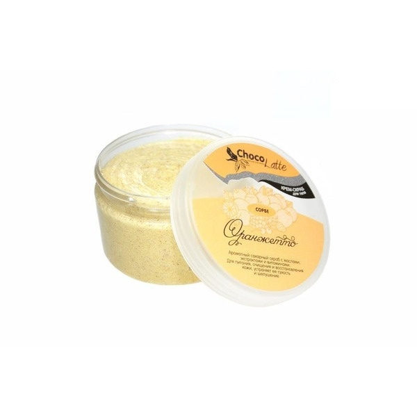 Chocolatte Cream-body Scrub Sorbe Orange