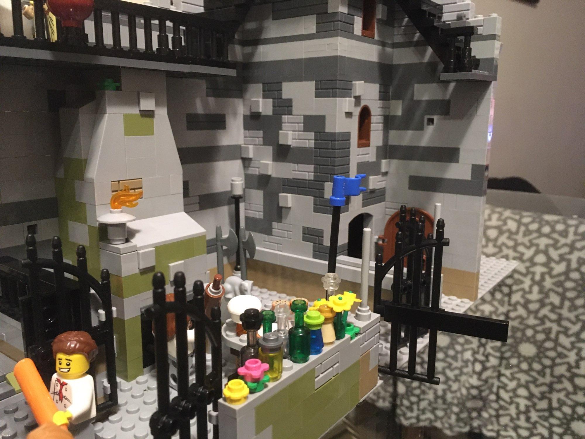 City Accessories Building Blocks House Door Window Frame MOC Friends Mini Figures Castle Garden Parts Bricks City building Toys photo review