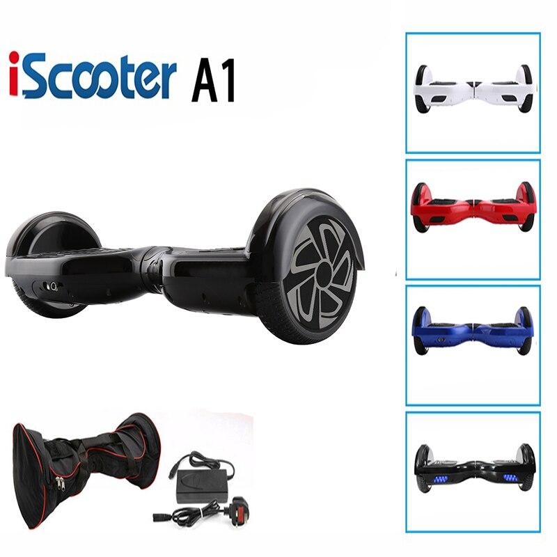 IScooter-Hoverboard eléctrico UL2272, de 6,5 pulgadas, autobalance, de 2 ruedas, Smart equilibro rueda moto Envío Gratis, Red, 10mW, minilocalizador de mano, probador de cables de fibra óptica VFL, comprobador de rotura de fibra óptica, 12Km